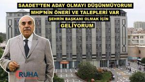 Ahmet Bahçivan çatı adaylığı için ne dedi