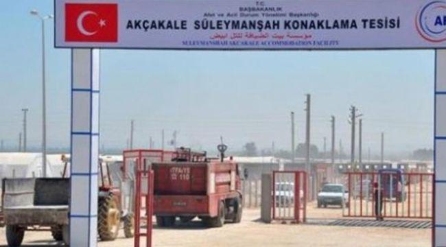 AKÇAKALE'DEKİ KAMP TAMAMEN BOŞALTILDI!