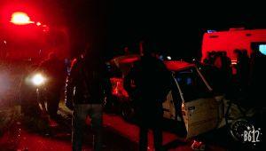 Ölüm Kavşağında Kaza: Ağır Yaralılar Var