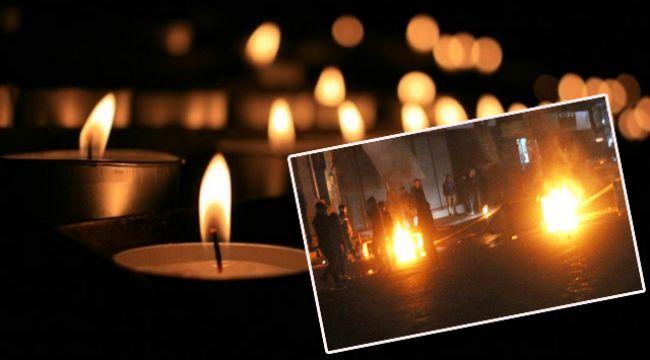 Viranşehir'de esnaflar, elektrik için caddeyi trafiğe kapattı