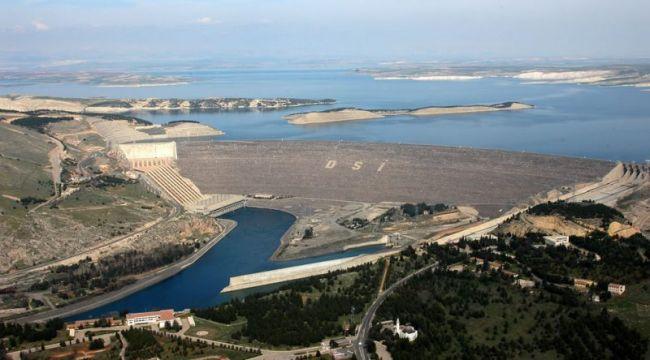 Atatürk Barajı, yağışa doydu