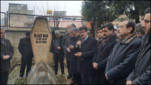 Şanlıurfalı Şair Yazar Mehmet Akif İnan mezarı başında anıldı