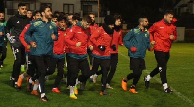 Şanlıurfaspor'un Antalya kampı başladı