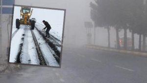 Siverek'te birçok mahallenin yolu kapandı !