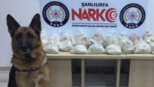 Siverek'te Uyuşturucu Operasyonu: 1 Gözaltı