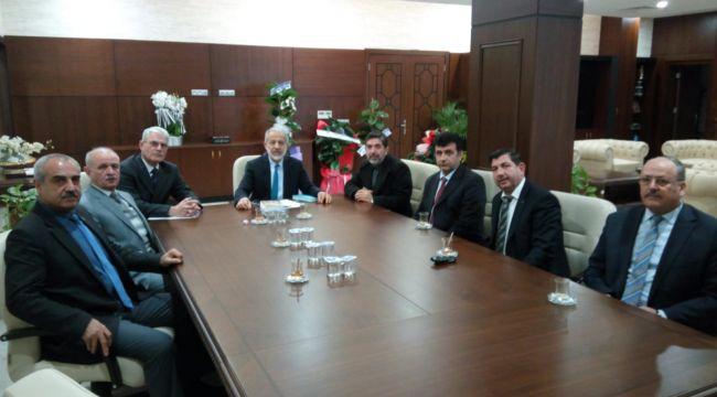 UYSAD'DAN HARRAN ÜNİVERSİTESİ REKTÖRÜNE ZİYARET