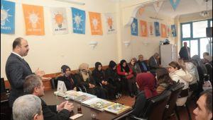 Başkan Çiftçi,Seçim Çalışmalarına Bozova'da Devam Etti