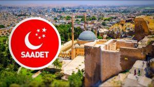 Saadet, Urfa'da Çatıyı Uçurdu