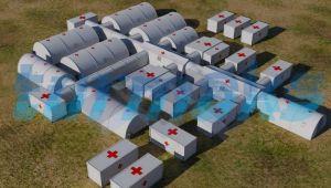 UMKE, Ceylanpınar'a Sahra Hastanesi kuruyor