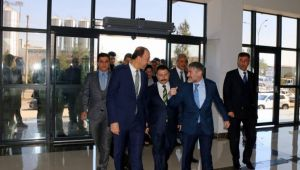 Bakan Yardımcısı Nebati, Şanlıurfa OSB'yi Ziyaret Etti
