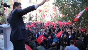 Başkan Adayı Hekimoğlu'ndan gövde gösterisi
