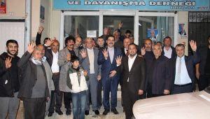 Haliliye Belediye Başkan adayı Mehmet Canpolat gece gündüz demeden ziyaretlerini sürdürüyor;