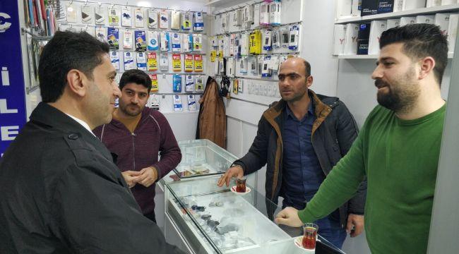 Kapaklı Pasajı Esnaflarından Hekimoğlu'na tam destek
