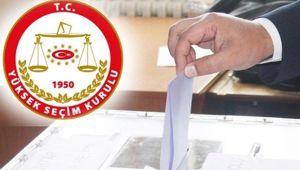 Şanlıurfa'da kesin Aday listeleri ilan edildi