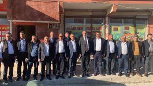 TBMM İdare Amiri Doç. Dr. Özcan'dan Akçakale ve Eyyübiye adaylarına destek