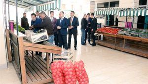 Urfa'daki tanzim noktasında satışlar başladı