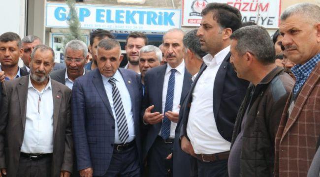 Akçakale Belediye Başkanı Yalçınkaya Göreve Başladı