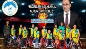 Başkan Aksak: 'Engelleri Aşanlarla Gurur Duyuyoruz'