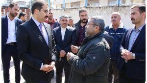 Başkan Canpolat Bağlarbaşı'nda vatandaşlarla buluştu