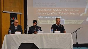 Bediüzzaman Said Nursi, Vefatının 59. Yıldönümünde Şanlıurfa'da Anıldı