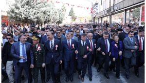 Binlerce kişi 11 Nisan için yürüdü