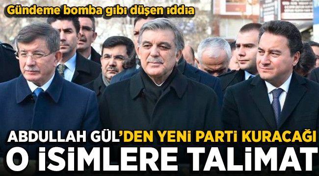 Gül'den Yeni Parti Kuracağı Konuşulan Babacan ve Davutoğlu'na Talimat: Bekleyin