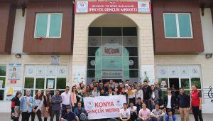 Konya Gençlik Merkezi Gençleri Şanlıurfa' da