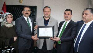 Mehmet Canpolat resmen Belediye Başkanı