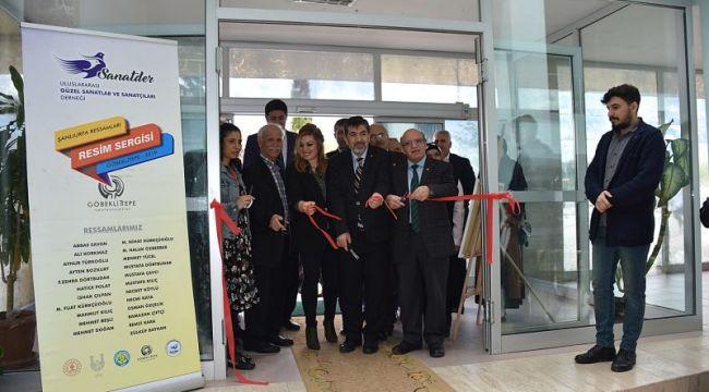 Şanlıurfalı Ressamlar HRÜ'de Sergi Açtılar