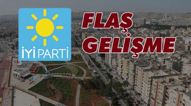 Urfa'da İYİ Parti İlçe Başkanı istifa etti!