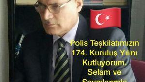 UYSAD Genel Başkanı Sıtkı Aloğlu Polis Haftası Mesajı Yayınladı