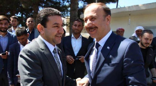 Vali Erin'den Mahmut Özyavuz'a ziyaret