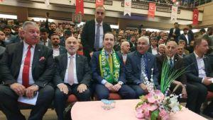 Yeniden Refah Partisi Genel Başkanı Fatih Erbakan Urfa'da