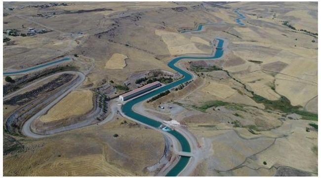 218 kilometrelik yapay nehirde sona doğru