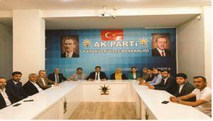 Ak Parti Karaköprü Yönetimi İlk Toplantısını Gerçekleştirdi