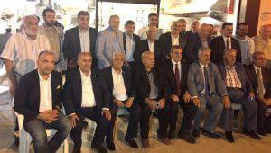 Başkan Beyazgül İstanbul'da AK Parti'ye destek istedi