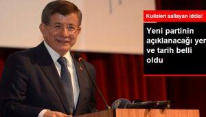 Davutoğlu Yeni Kurulacak Partiyi Diyarbakır'da Tanıtacak