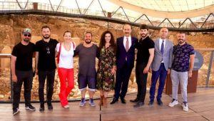 Hercai'nin ekibi Göbeklitepe'yi sevdi