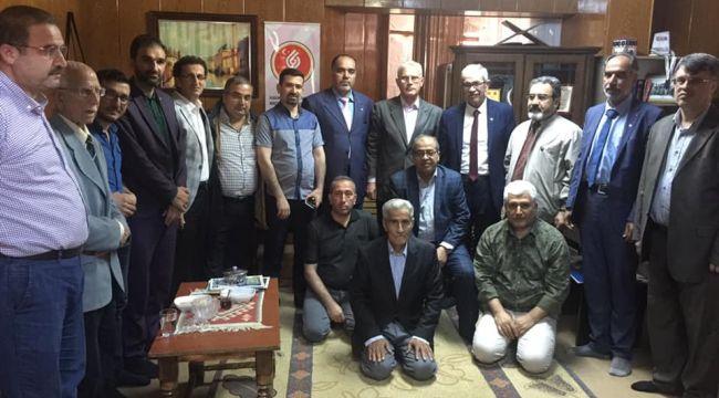 Suriyeli Şair Yazar ve Sanatçılar UYSAD ı Ziyaret Etti