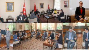 Türkiye'nin Expo Komiseri'nden Büyükelçi Önen'e ziyaret