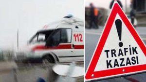 Urfa'da Otomobil Tırla Çarpıştı:1 Ölü,3 Yaralı