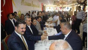 AK Parti'de coşkulu bayram kutlaması