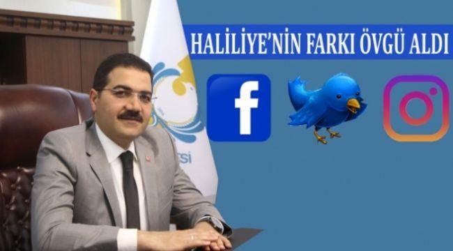 Haliliye Belediyesi Sosyal medya iletişim ve çözüm adresi oldu