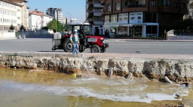 Karaköprü'de Haşere Ve Sivrisinek Mücadelesi Sürüyor