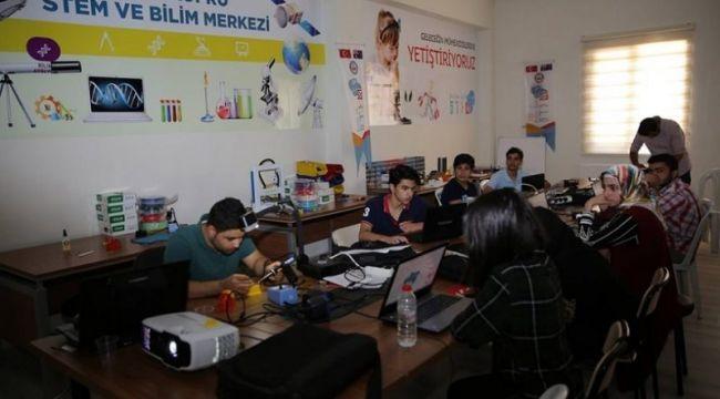 Karaköprü Stem Merkezi başarılarına başarı katıyor