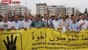 Mursi için Rabia Meydanında Gıyabi Cenaze Namazı