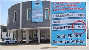 Viranşehir Belediyesi'de Borcunu Açıkladı