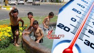 Yanacağız! Urfa'da sıcaklık 40 dereceyi geçecek