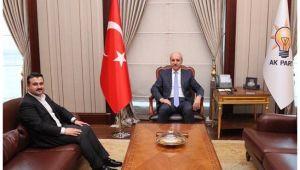 Başkan Yıldız Numan Kurtulmuş ile görüştü