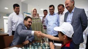 Haliliye'de 15 Temmuz Demokrasi ve Milli Birlik Günü Satranç Turnuvası